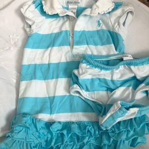 Ralph Lauren stripe dress
